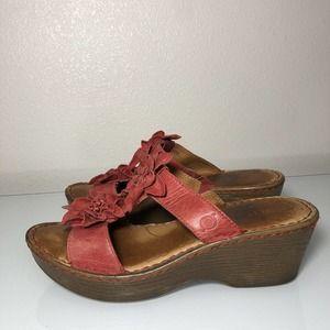 BOC Born Concepts Floral Sandals Women's Size 9